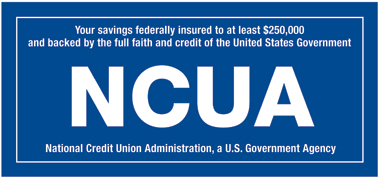 NCUA Share Insurance Sign